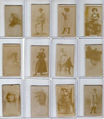 N245 1890 Sweet Caporal Cigarette Tobacco Card Collection Movie Actresses (45)