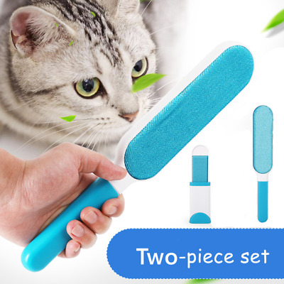 Lint Magic Brush Fluff Clothes Pet Dog Cat Hair Remover Cloth Fabric Dry Clean