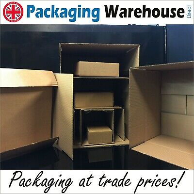 Royal Mail Small Parcel size Cardboard Mailing Boxes mailer postal brown