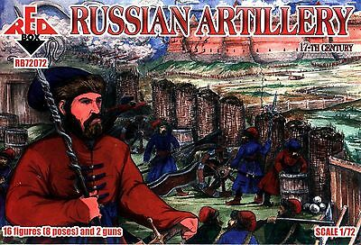 Red Box 72072 Russian Artillery, 17th Century Plastic 1/72 scale kit