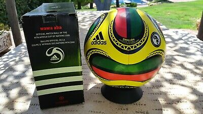 Rare & New Adidas Match Ball Africa Cup wawa aba Ideal for Collector & Footgolf