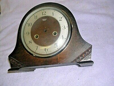 CLOCK  PARTS   SMITHS ENFIELD  MANTEL CLOCK  CASE,a