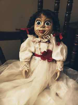 HAUNTED ANNABELLE DOLL from The Conjuring - Mezco Living