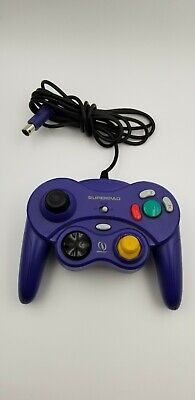 Nintendo GameCube Blue InterAct SUPERPAD Replacement Wired Game Controller