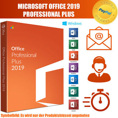 Microsoft Office 2019 Professional Plus MS PRO Plus Email Download Key 32/64 BIT
