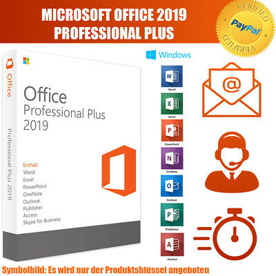 Microsoft Office 2019 Professional Plus MS PRO Plus Email Download Key