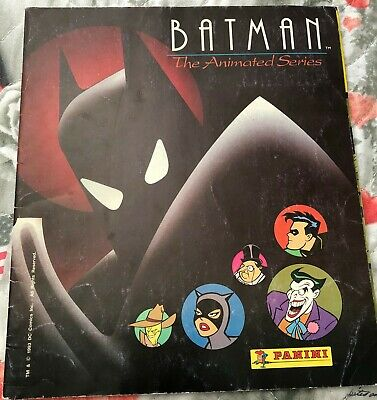 Panini Batman The Animated Series Vintage Album Figurine Completo Anno 1993