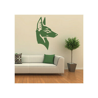 Egyptian Dogs Head Anubis Rest of the World Wall Decal Sticker Home  WS-19564
