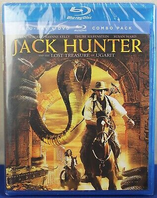 Jack Hunter Blu-ray DVD Combo Pack NEW SEALED