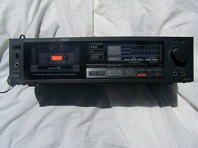 Onkyo TA-2026 Stereo Cassette Tape Deck Player RecorderTested Working VINTAGE