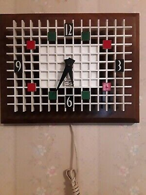 Sparticus  clock 1960s Midcentury house of time model nu 772