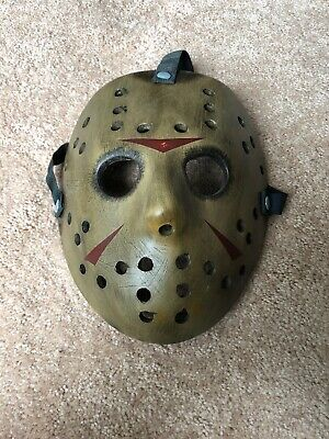 Friday The 13Th Jason Vorhees Mask Prop Replica 2009 Neca