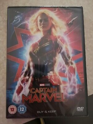Captain Marvel DVD 2019. New and sealed.
