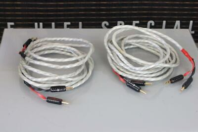 PAIR of WIREWORLD Luna 7 DNA Helix High-End SPEAKER CABLE 3.5m Pair