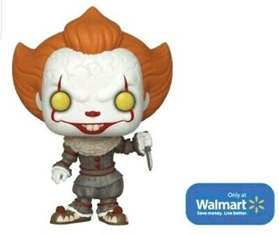 Funko Pop Movies IT Chapter 2 - Pennywise w/ Knife Walmart Exclusive Pre-Order