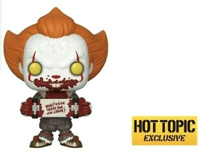 Funko Pop IT Chapter 2 - Pennywise w/ Skateboard Hot Topic Exclusive Pre-Order