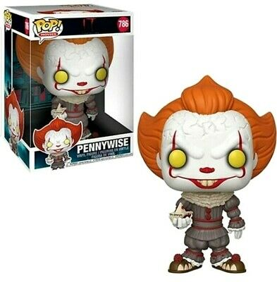 """Funko Pop Movies IT Chapter 2 - 10"""" Pennywise w/ Boat Vinyl Figure Pre-Order"""