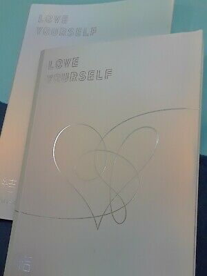 BTS REPACKAGE / LOVE YOURSELF 結 Answer / SELF 2CDS- + Photo Book -no photos card