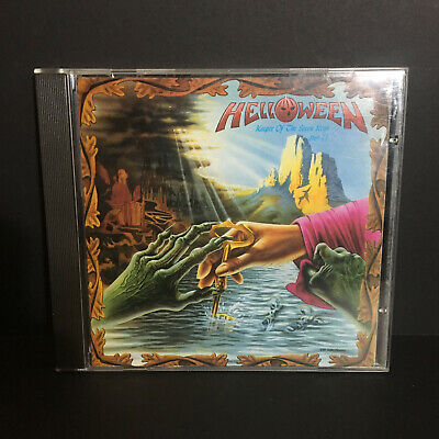 Helloween Keeper Of The Seven Keys - Part II 1988 Original CD Noise Records USED