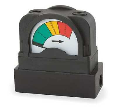 MIDWEST INSTRUMENT 555A-3.5 Pressure Indicator,0 to 3.5 psi