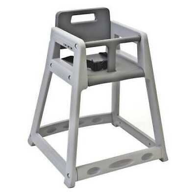 KOALA KARE PRODUCTS KB950-01-KD Plastic High Chair, Unssbld Gry