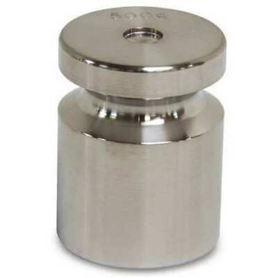 RICE LAKE WEIGHING SYSTEMS 12511TR Calibration Weight,SS,500g,Cylinder