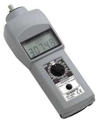 SHIMPO DT-105A Tachometer,0.10 to 25,000 rpm