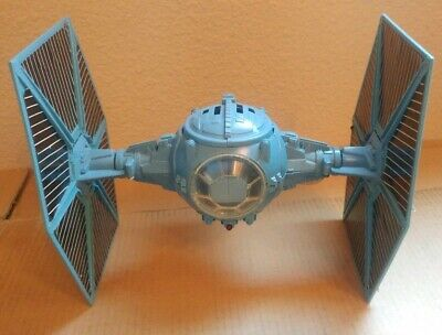 Vintage 1978 Star Wars blue Tie Fighter complete & working electronice very nice