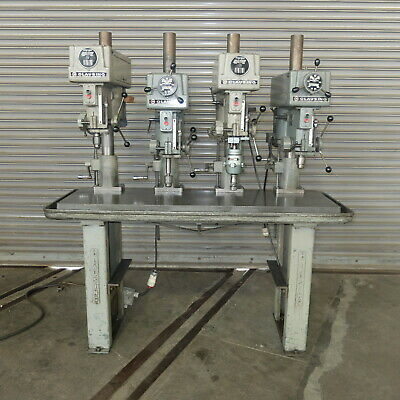 CLAUSING 20 STEP Pulley Drill Presses Operator & Parts