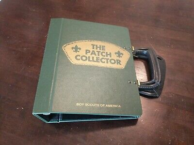 The Patch Collector Binder - Vintage Boy Scouts Of America Patch Collector Album