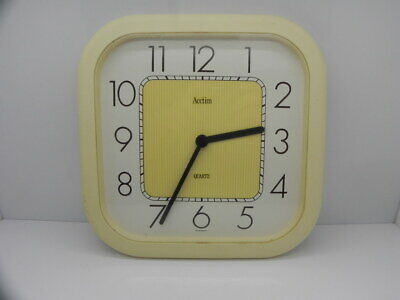 Vintage Retro Acctim Quartz Kitchen / Wall Clock West Germany