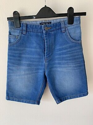 Boys Next Age 10 Years Blue Denim Jean Shorts