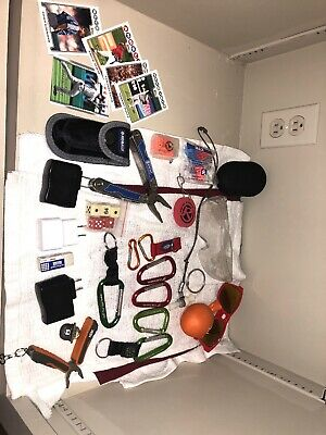 Junk Drawer Lot. Kobalt Multi-use Tool, Baseball Cards, Oakey Glasses And More