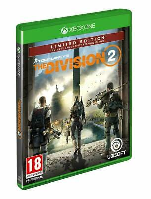 Tom Clancy's The Division 2 Limited Edition Xbox One ~ BRAND NEW SEALED ~