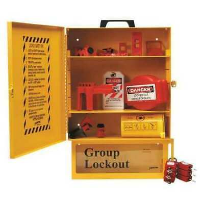 BRADY 99709 Lockout Station,Filled,Elctrical,16 In H