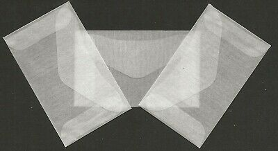 STAMP  ACCESSORIES        25- GLASSINE ENVELOPES     44 x 73 mm   smallest size
