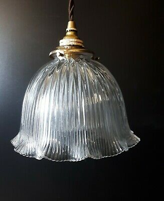Original Holophane hanging light