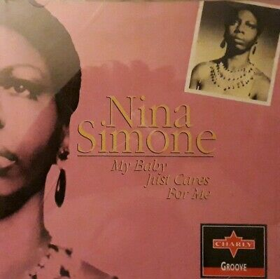 Nina Simone-My Baby Just Cares For Me CD.1993 Charly CPCD 8002.Little Girl Blue+