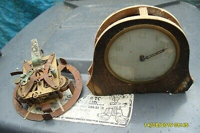 Clock Parts 2 Old   Clock Movements   Spares  Repair