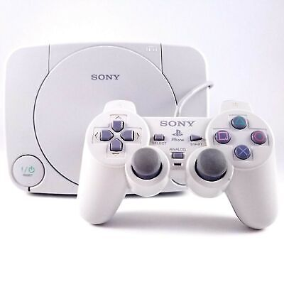 Sony Playstation PSOne PS1 Video Game Console With Controller