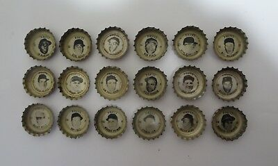 1967 Coke PITTSBURGH PIRATES Bottle Caps Complete Set Roberto Clemente Stargell