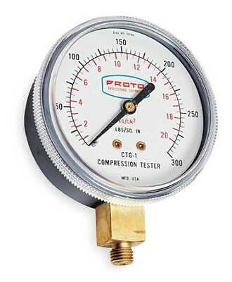 PROTO JCTG1 Compression Gauge,2 1/2 In,For 4R388