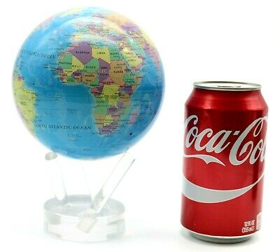 """Outstanding MOVA Multi-color SELF ROTATING Political Map EARTH GLOBE wStand 4.8"""""""