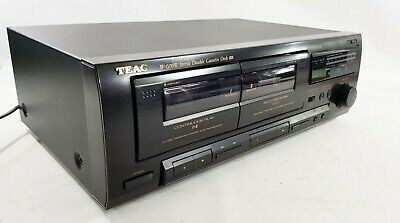 Teac W-600R Double Cassette Deck - Dolby B  - GWO - FREE UK DELIVERY