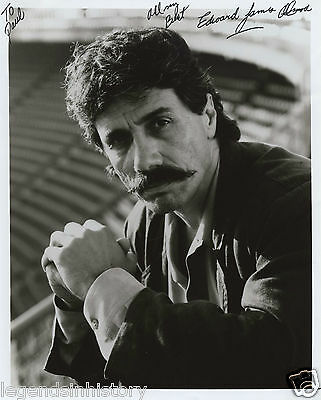 EDWARD JAMES OLMOS Autographed Signed Photograph Battlestar Galactica Zoot Suit