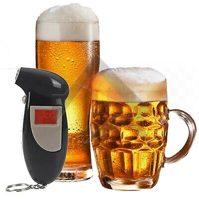 Police Breath Alcohol Tester Digital Analyzer Detector Breathalyser DRINK DRIVE