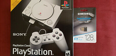 Playstation Classic and 128GB USB Bundle - Brand New