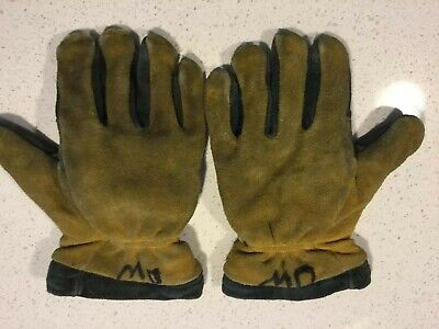 Firefighter Structure  Leather Gloves M-L Size