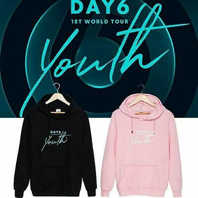 Kpop DAY6 1ST World Tour Youth Hoodie Pullover Jae Sung Jin Won Pil Sweater