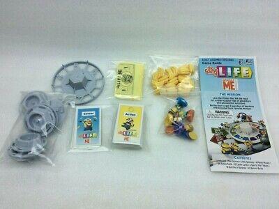 The Game of Life Despicable Me Replacement Pieces Parts Cards Minions Money etc.
